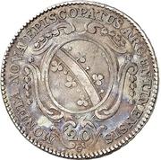 20 Kreuzer - Ludwig Constantin von Rohan-Guéménée – reverse