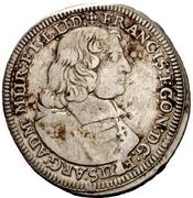 1 Gulden - Franz Egon von Fürstenberg-Heiligenberg – obverse