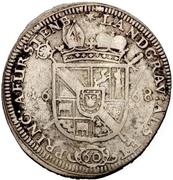 1 Gulden - Franz Egon von Fürstenberg-Heiligenberg – reverse
