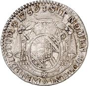 1/12 Thaler - Ludwig Constantin von Rohan-Guéménée – reverse