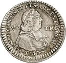 ⅙ Thaler - Ludwig Constantin von Rohan-Guéménée – obverse