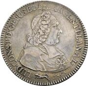 1 Thaler - Ludwig Constantin von Rohan-Guéménée – obverse