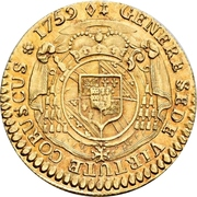 ½ Constantin d'or - Ludwig Constantin von Rohan-Guéménée – reverse