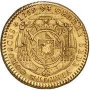 1 Constantin d'or - Ludwig Constantin von Rohan-Guéménée – reverse