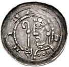 1 Pfennig - Kuno – obverse