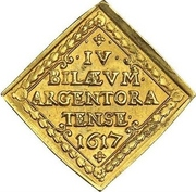 2 Ducat (Centennial of the reformation; Klippe) – obverse