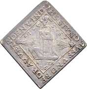 1 Ducat (Centenary of the Peace of Passau; Silver pattern strike) – obverse