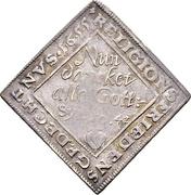 1 Ducat (Centenary of the Peace of Passau; Silver pattern strike) – reverse