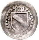1 Pfennig - Bernhard I. – obverse
