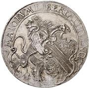 ½ Thaler (Strasbourg, Bern and Zurich pact) – obverse