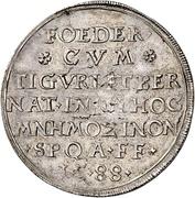½ Thaler (Strasbourg, Bern and Zurich pact) – reverse