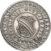 1 Thaler (100 years of Reformation) – obverse