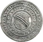 3 Thaler (100 years of Reformation) – obverse