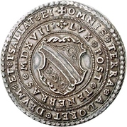 ½ Thaler (100 years of Reformation) – obverse