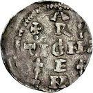 1 Pfennig - Heinrich II. – reverse