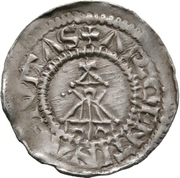 1 Denar - Otto I. – reverse