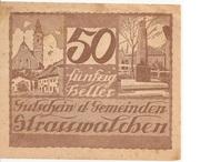 50 Heller (Strasswalchen) – obverse