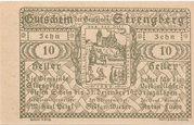 10 Heller (Strengberg) -  reverse