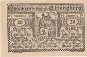 20 Heller (Strengberg) – reverse
