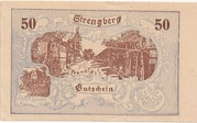 50 Heller (Strengberg) – obverse