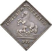 ½ Ducat - Dukatenklippe (Silver pattern strike) – reverse
