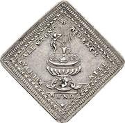 2 Dukatenklippe (Silver pattern strike) – reverse