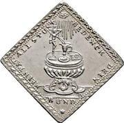 1 Dukatenklippe (Silver pattern strike) – reverse