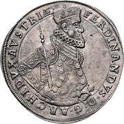 1 Thaler - Ferdinand II Archduke (Graz) -  obverse
