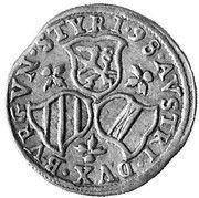 3 Kreuzer - Ferdinand II Archduke (Graz) – reverse