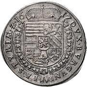 1 Thaler - Ferdinand II Archduke (Graz) -  reverse