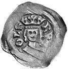 1 Pfennig - Rudolf I (Graz) – obverse