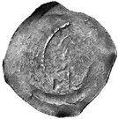 1 Pfennig - Rudolf I (Graz) – reverse