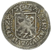 2 Kreuzer - Karl II Franz von Innerösterreich (Graz) – reverse