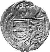 2 Pfennig - Ferdinand II Archduke (Graz) – obverse