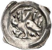 1 Pfennig - Herzog Albrecht II the Wise (Graz) – obverse