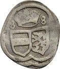 1 Pfennig - Karl II Franz von Innerösterreich – obverse