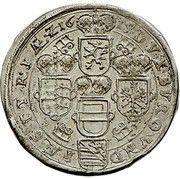 15 Kreuzer - Ferdinand II Erzherzog (Graz) -  reverse