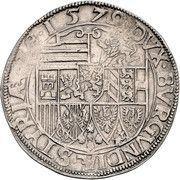1 Thaler - Karl II Franz von Innerösterreich (Graz) -  reverse