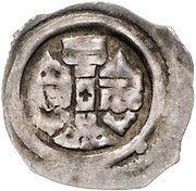 1 Pfennig - Ottokar II of Bohemia (Graz) – obverse