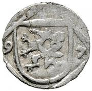 1 Pfennig - Ferdinand II Archduke (Graz) – obverse