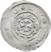 1 Pfennig - Otakar IV (Fischau) – reverse