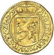 1 Ducat - Karl II Franz von Innerösterreich (Graz) – reverse