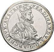 1 Thaler - Ferdinand II Archduke (Graz) – obverse