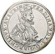 1 Thaler - Ferdinand II (Graz) – obverse