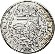1 Thaler - Ferdinand II Archduke (Graz) – reverse