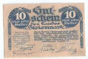 10 Heller (Styria) -  obverse