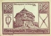 10 Heller (Marktgemeinde Mürzzuschlag) -  obverse