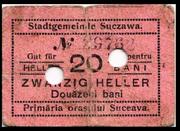20 Heller (Suceava) – obverse