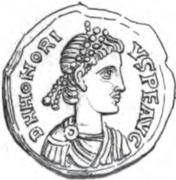 Siliqua (Rechiar) – obverse