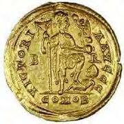 Solidus (Braga) -  reverse